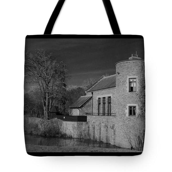 House On The River Tote Bag by Maj Seda