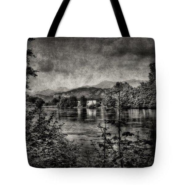 House On The River Tote Bag