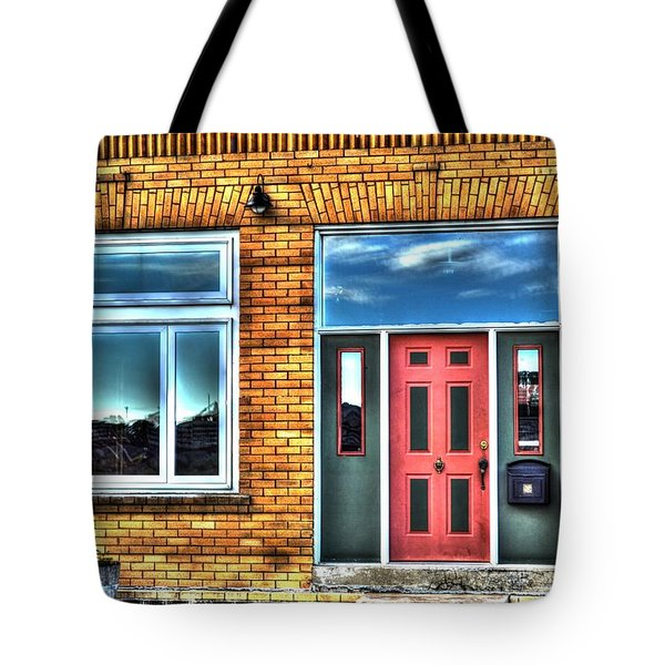 House Reflections Tote Bag by Aliceann Carlton