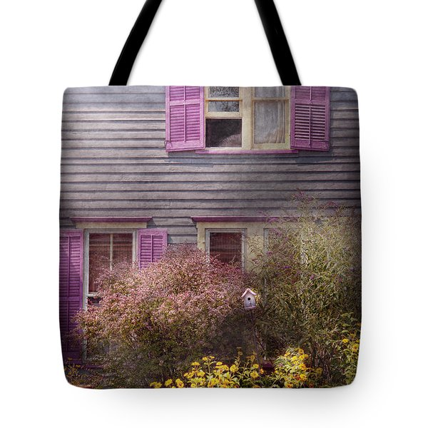 House - Victorian - A House To Call My Own  Tote Bag by Mike Savad