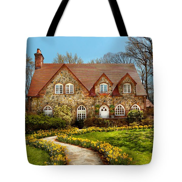 House - Westfield Nj - The Estates  Tote Bag by Mike Savad