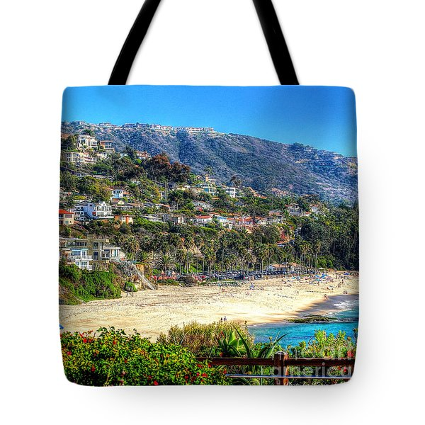 Houses By The Sea Tote Bag