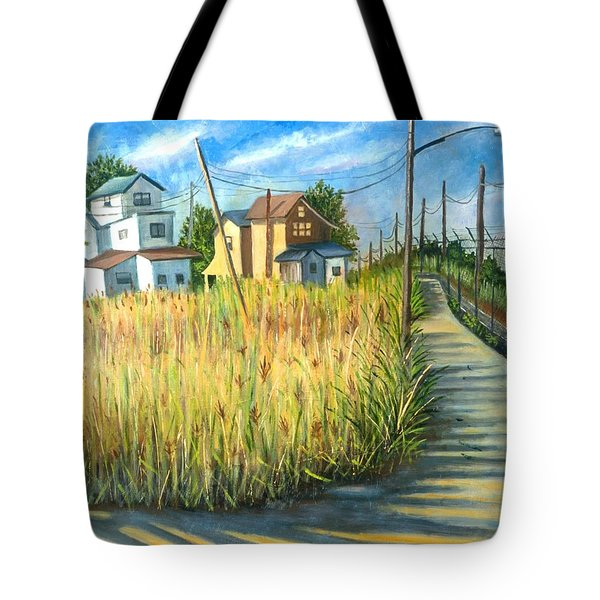 Houses In The Weeds Tote Bag