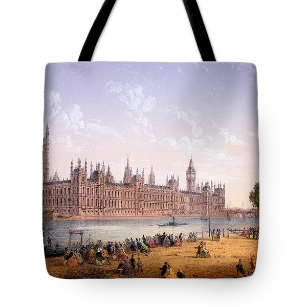 Houses Of Parliament From The South Tote Bag