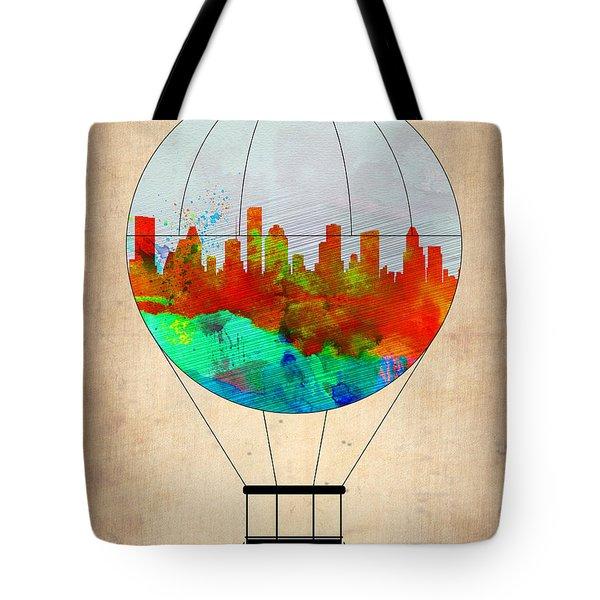 Houston Air Balloon Tote Bag