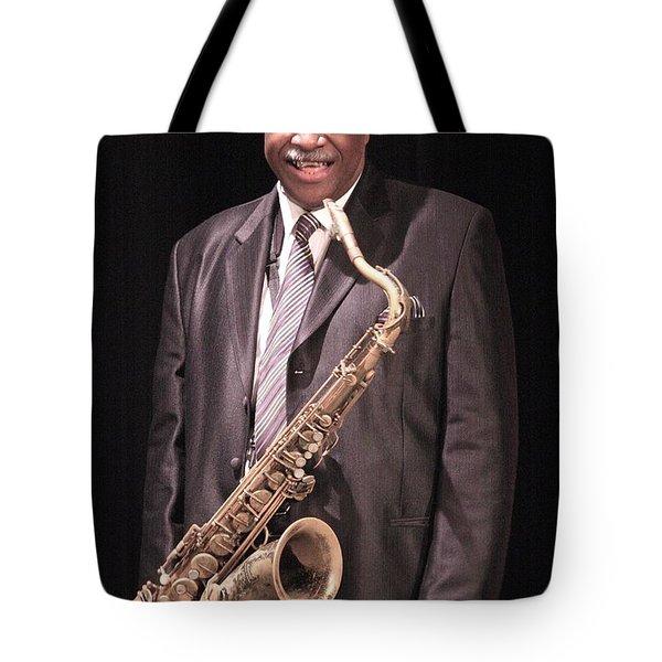 Houston Person  Tote Bag