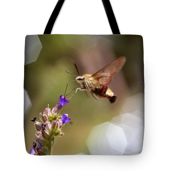 Hovering Pollination Tote Bag