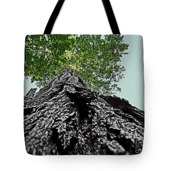 How A Chipmunk Sees A Tree Tote Bag