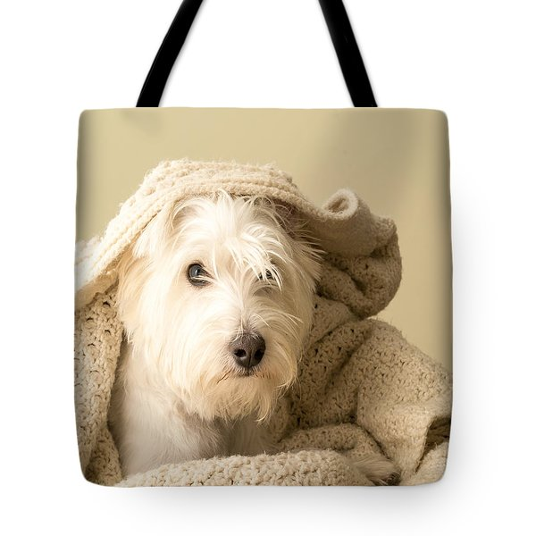 How About A Snuggle Card Tote Bag by Edward Fielding