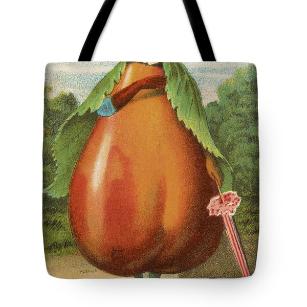 How Do I A Pear Tote Bag by Aged Pixel