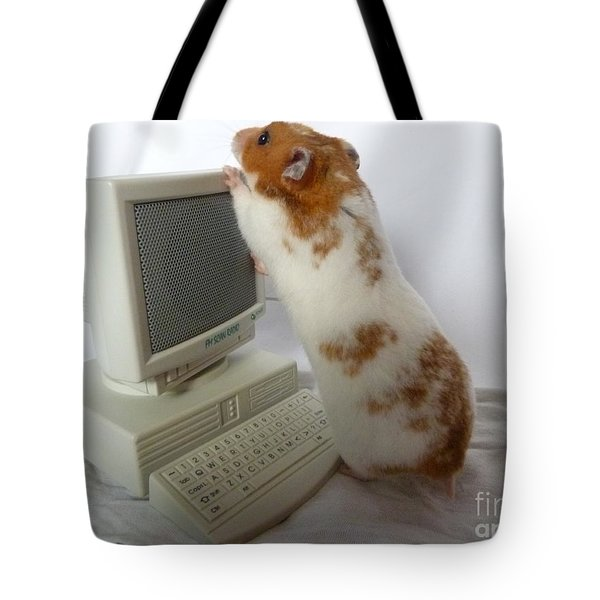 Tote Bag featuring the photograph How Do You Switch On This Screen? by Vicki Spindler