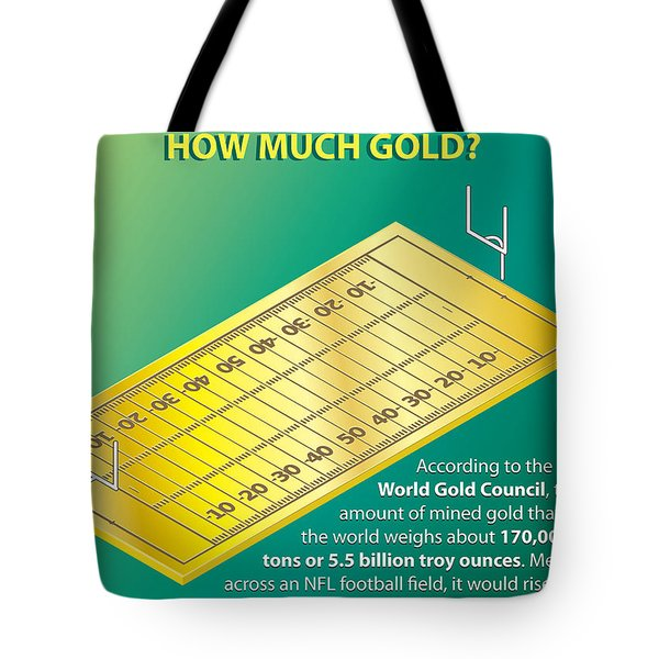 How Much Gold Tote Bag