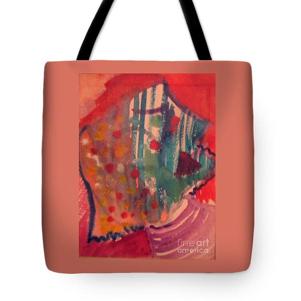 How Much I Loved You Original Contemporary Modern Abstract Art Painting Tote Bag