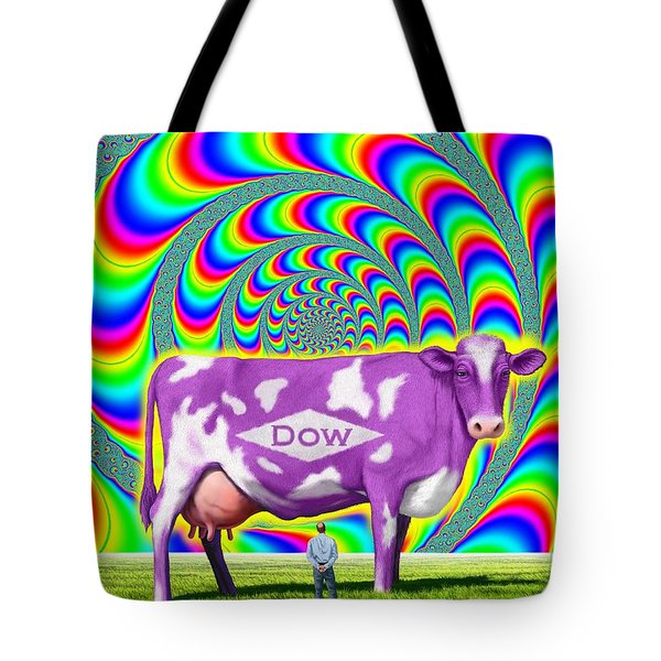 How Now Dow Cow? Tote Bag