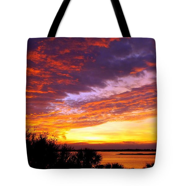 How Sweet The Sound Tote Bag by Karen Wiles