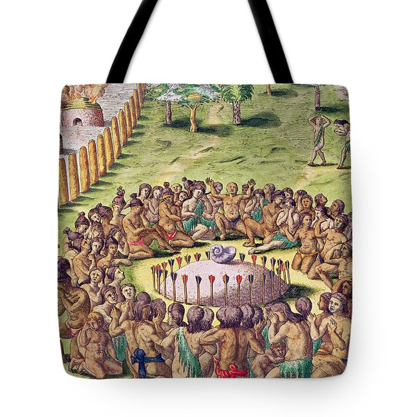 How The Chief Is Buried Tote Bag