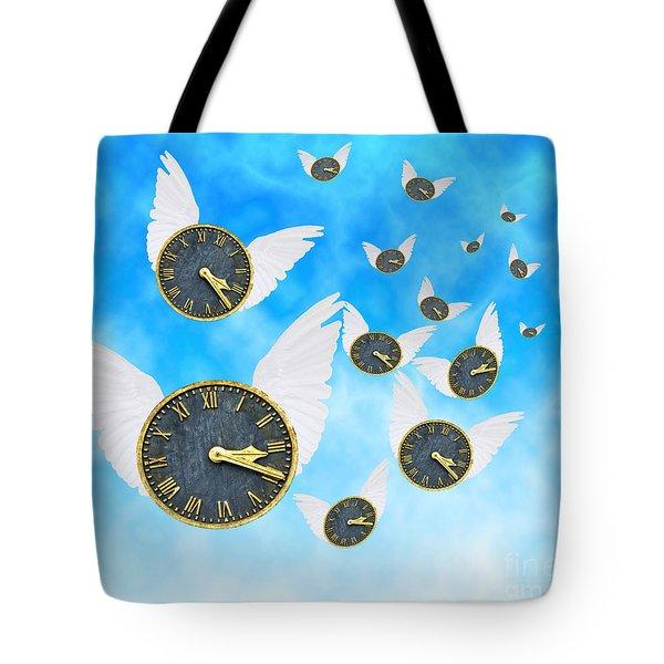 How Time Flies Tote Bag by Juli Scalzi
