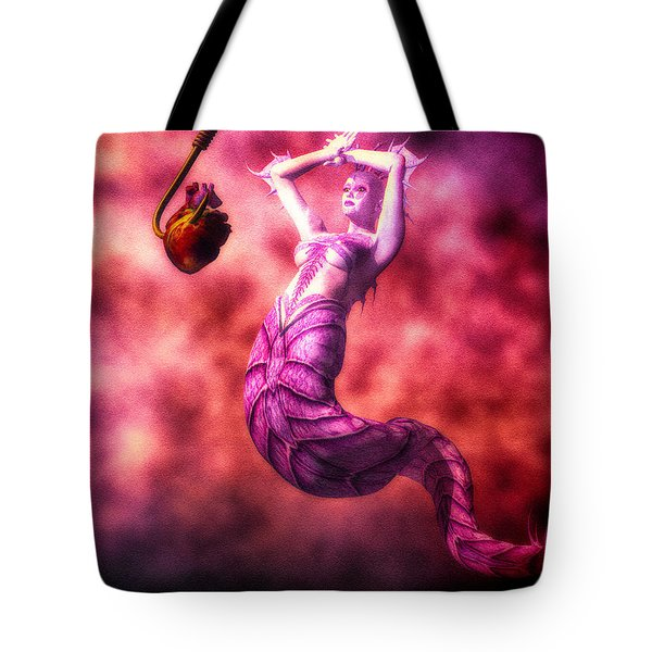How To Catch Mermaids Tote Bag by Bob Orsillo