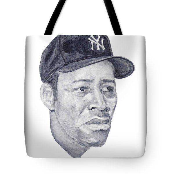 Tote Bag featuring the painting Howard by Tamir Barkan