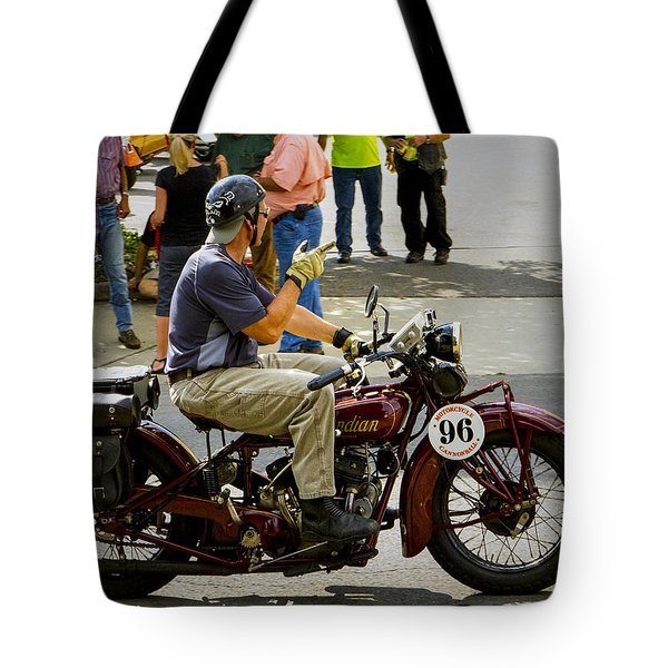 Howdy Indian 96 Tote Bag