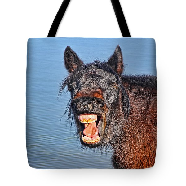Howdy Tote Bag by Tammy Espino