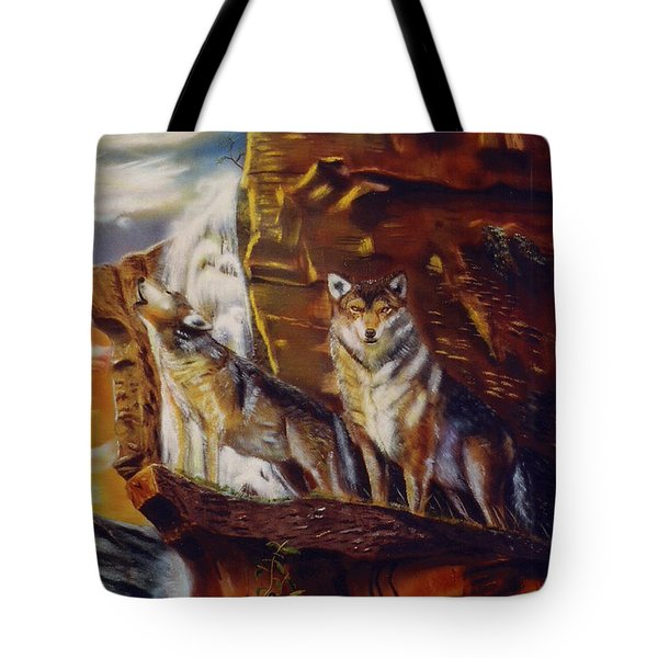 Howling For The Nightlife  Tote Bag