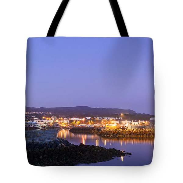 Howth Harbour Lighthouse Tote Bag