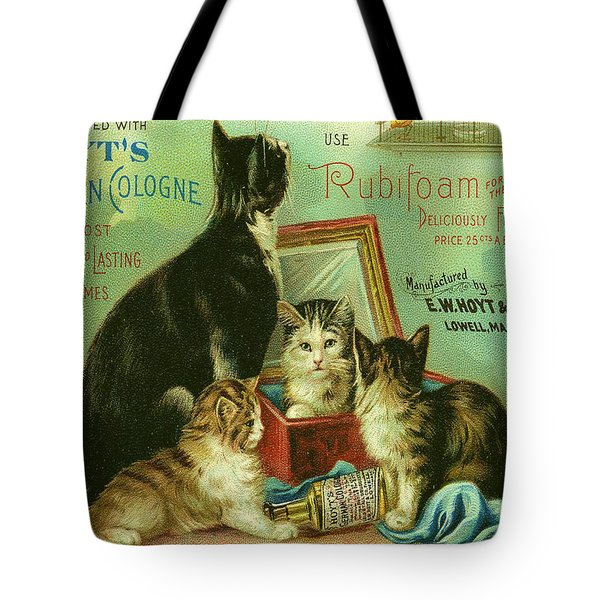 Hoyts Cats Tote Bag by Georgia Fowler