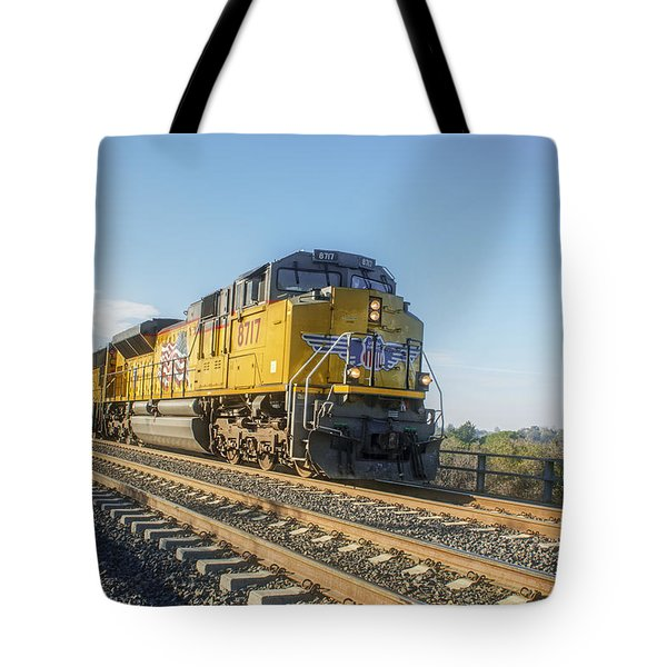 Tote Bag featuring the photograph Hp 8717 by Jim Thompson