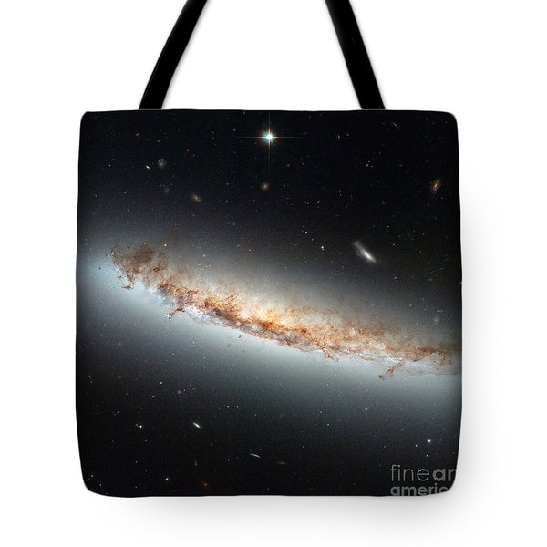 Hubble Views Ngc 4402 Tote Bag by Science Source