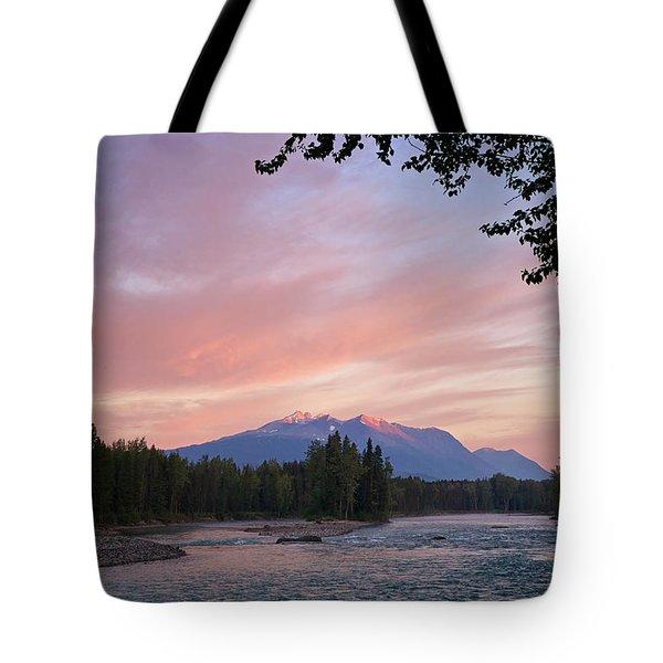 Hudson Bay Mountain British Columbia Tote Bag