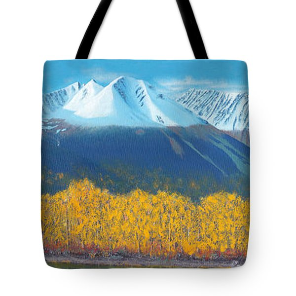 Hudson Bay Mountain Tote Bag