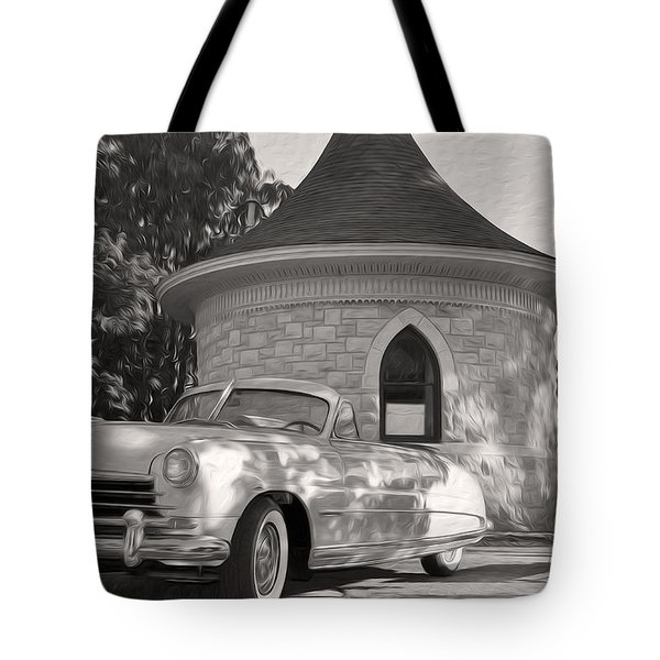 Tote Bag featuring the photograph Hudson Commodore Convertible by Verana Stark