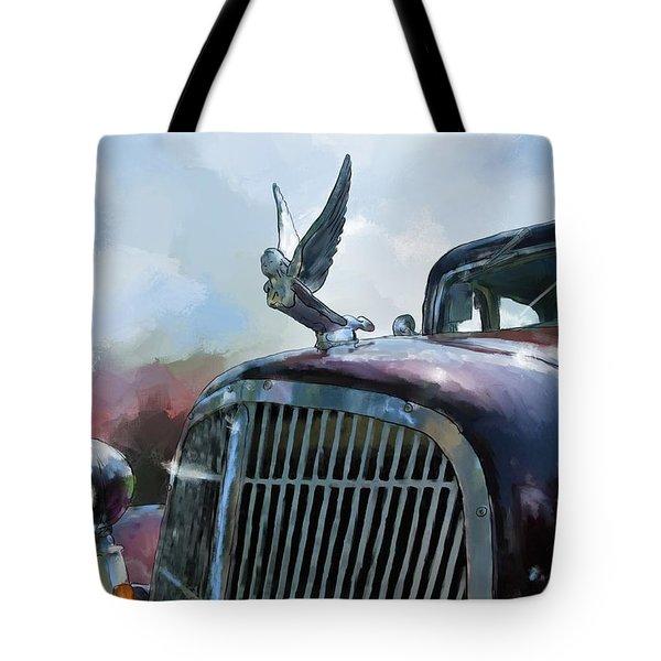 Hudson Tote Bag by Debra Baldwin