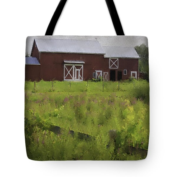Hudson Valley Barn Tote Bag