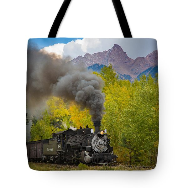 Huffing And Puffing Tote Bag by Inge Johnsson