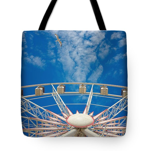 Huge Ferris Wheel Tote Bag