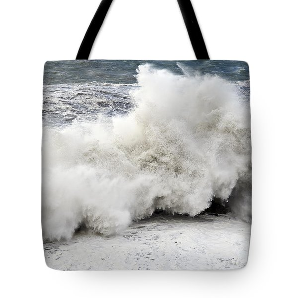 Huge Wave Tote Bag