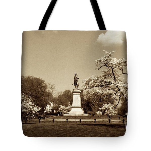 Hugh Mercer In Springtime II Tote Bag