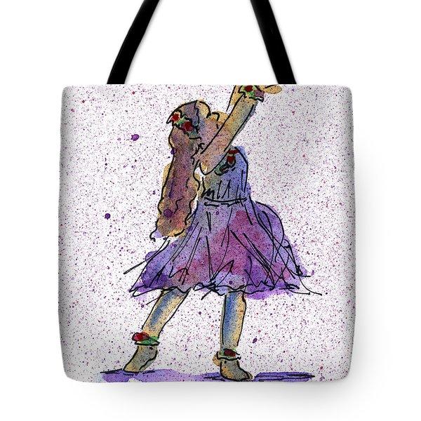 Hula Series Lokelani Tote Bag