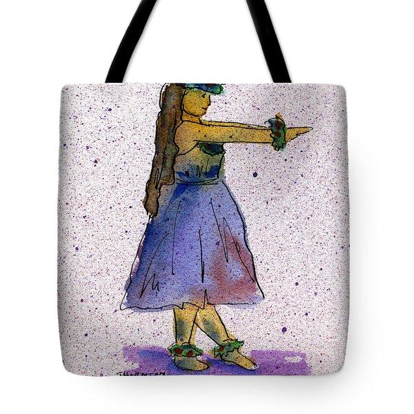 Hula Series Nakine Tote Bag
