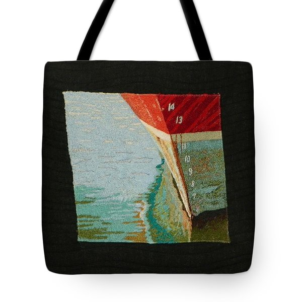 Waterline Tote Bag by Jenny Williams
