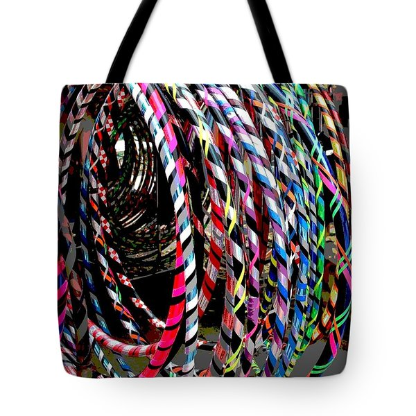 Huly Hoops Tote Bag by The Art of Alice Terrill