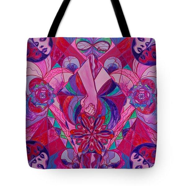 Human Intimacy Tote Bag