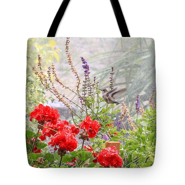 Hummer Shower Tote Bag