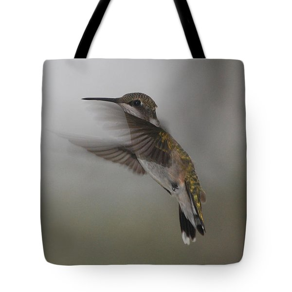 Tote Bag featuring the photograph Hummingbird 6 by Leticia Latocki