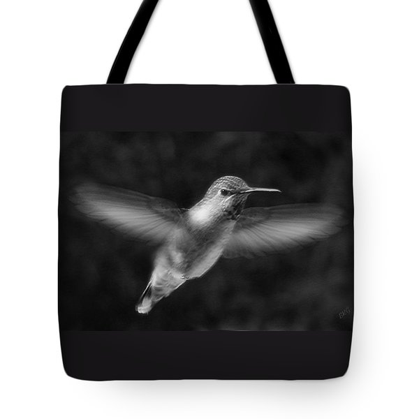 Hummingbird Tote Bag by Ben and Raisa Gertsberg