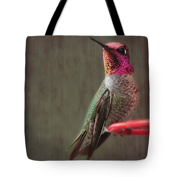 Hummingbird Flare Tote Bag by Melanie Lankford Photography