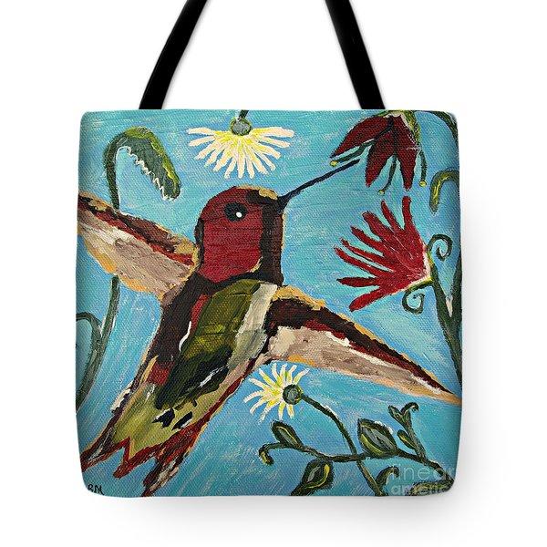 Hummingbird No. 2 Tote Bag