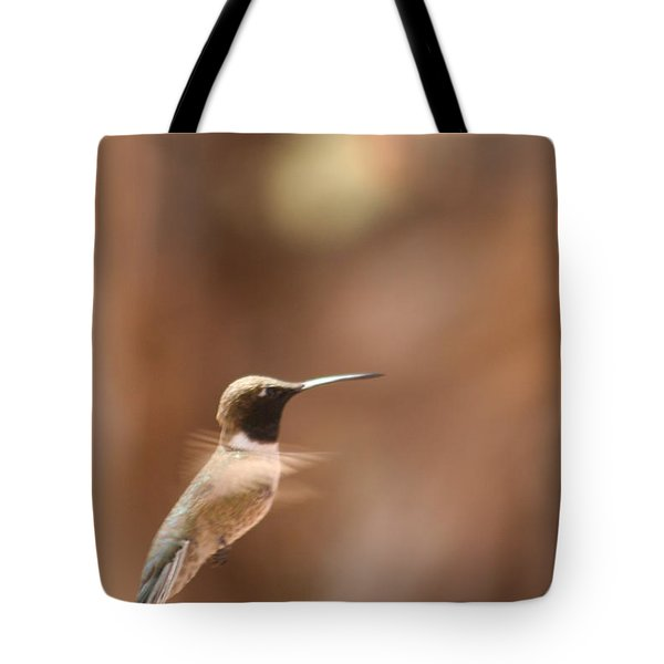Tote Bag featuring the photograph Hummmmm by Nola Lee Kelsey